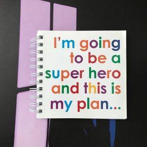 The Superhero Notebook